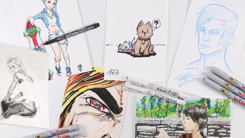 Pennarelli per Manga