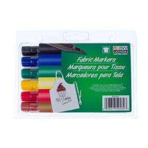 Pennarello per tessuti MARVY 530 - Blister 6 pezzi - Colori Assortiti